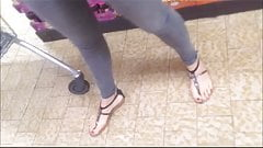 spyshot hidden cam of sexy naked feet