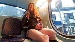Themidnightminx flashing my panties on the bus