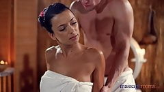 Massage Rooms Sexy brunettes it`s very HOT  tight slick tanned body