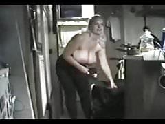 Chubby Blonde Fucks