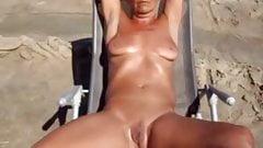 Nudist Couple Camping LIfe
