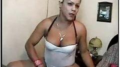 CUKEGIRL Shemale In White Amateur Webcam XXX