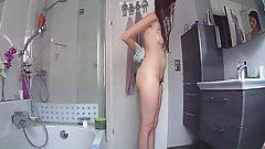 Nice girl in shower.