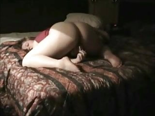 Very Horny Fat Chubby Teen masturbating at her hotel-2