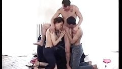 Bisexual Playfull MMF Threesome