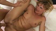 Blonde milf with nice body