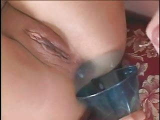 Sexy deep throat asian milf with pig tails gets anal fucked by dick and sex toy