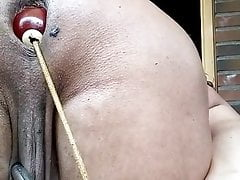DGB - BILLIARD BALLS ANAL KINKY SHAVED SISSY ASS