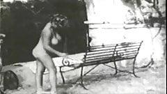Virginia Bell - Cleaning up & Sunbathing