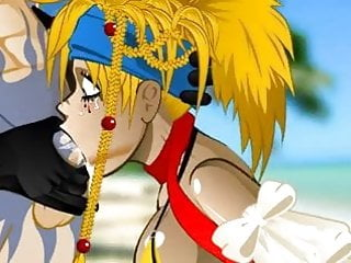 Rikku super blowjob Hentai sex game <c>Final Fantasy<d>