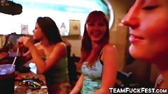 Porn industry babes find two random guys and make their day