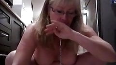 blonde mature panty piss drink