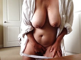 Pulled her panty down for a quick orgasm