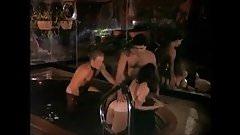 Classic Scenes - Kandi Barbour MMF Pool Sex