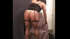Sexy Rachelle Ass Up and Spreading