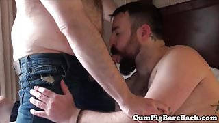 Chub anally drilled by superchubs hard cock