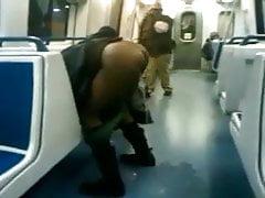 Black Girl Pisses On Train