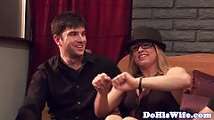 Cuckolding babe gets banged by bbc