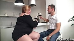 He fucks chunky big boobs plumper