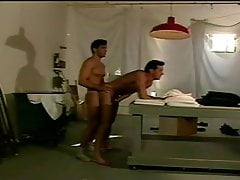 Males Fucking in Laundry Room