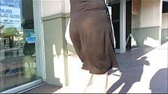 Visible thong