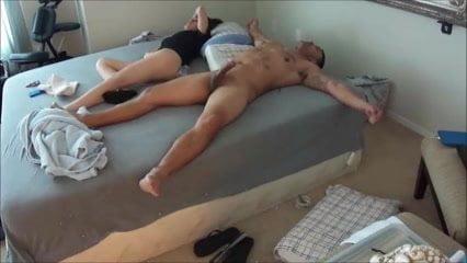 Hot  brunette slut gets fucked