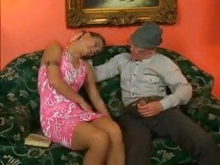 Grandpa & Young Girl 06