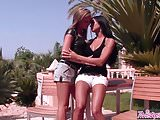 Twistys - Ashley BulgariNatalia Forrest starring at Lesbo Sn