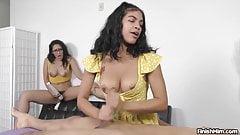 Orgasm after Orgasm - Maya and Xaya  Finish Him!
