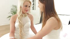 Chatting Lesbians from Sapphic Erotica Taylor Sands and