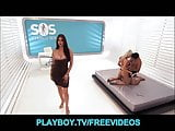 HOT young couple get a lesson in S&M sex with Tera Patrick