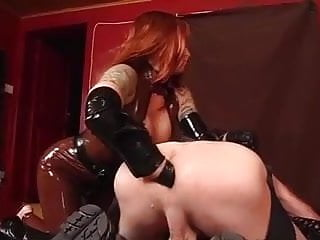 Mistresses treatmend for faggot slaves