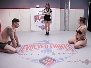 Sexy Latina Tori Avano wrestles Billy Boston to the finish