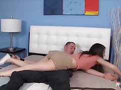 Cuckold Archive vintage video of housewife fucking BBC bull