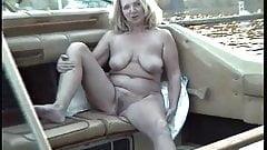 Adele Nude Sunbathing On The Boat