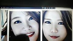 AOA Yuna and Hyejeong Cum Tribute 1