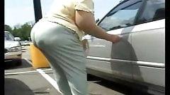 Spy Granny Big Butt