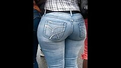 Delicious big butt mature milfs in jeans