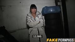 Hot brunette Tera Joy gets seduced and rammed doggystyle