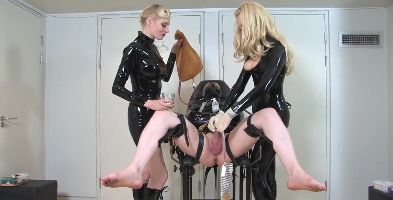 Congratulate, femdom gynochair german remarkable, very valuable