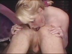Vintage anal scene