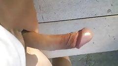 Outdoor Cumshot 5