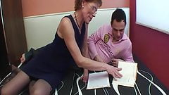 Mature Mom Fucks Teen Student