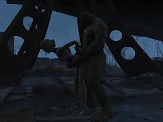Preview 3 of Fallout 4 Katsu sex adventure chap.5 Supermutant
