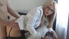 nice ass german milf takes dogyy