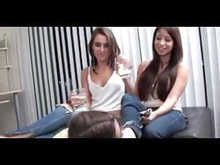 two mistress use lesbian foot slave