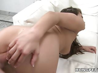 Teal Conrad enjoys big dick ride