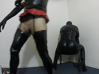 Preview 4 of Crossdresser spanking sub CD
