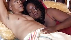 Big beautiful mature black BBW is a very hot fuck