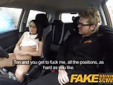 Fake Driving School half Asian tiny student fucks for free